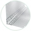 LKS plast - plastový rohový profil s tkaninou